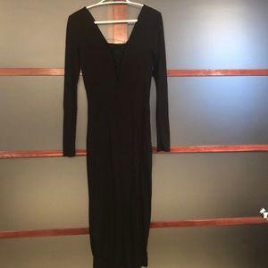 Body Hugging Long Dress